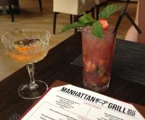 Manhattan Grill Cocktails