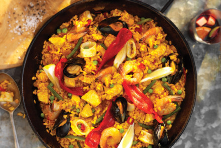 chicken mushrooms and shrimp rezept yummly chicken and shrimp paella ...