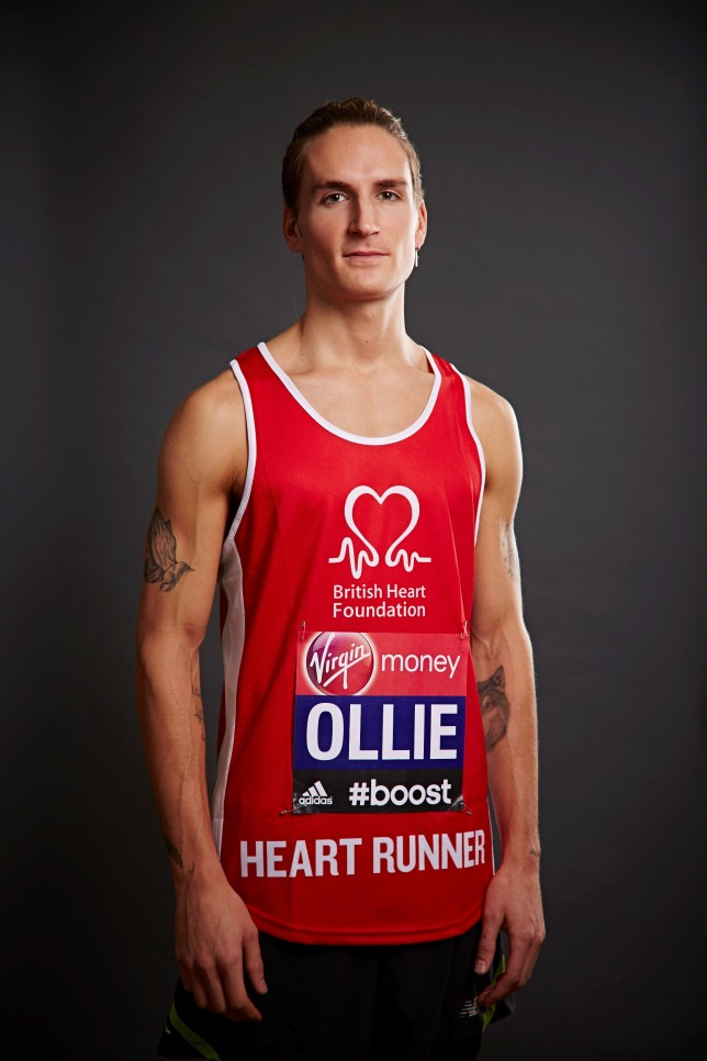 Oliver ProudLock for the BHF