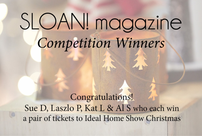 win tickets to ideal home show christmas sloan magazine. Black Bedroom Furniture Sets. Home Design Ideas