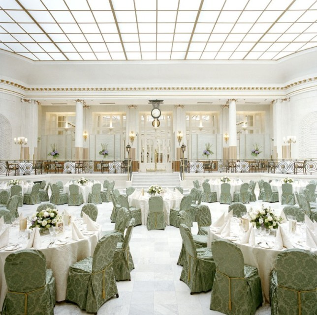 Palm Court Wedding Reception