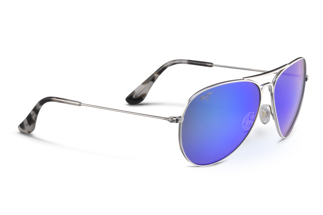 8fd2d513c3c We reviewed the Maui Jim Mavericks aviator sunglasses (£235) which brings  classic style with a contemporary twist, featuring PolarizedPlus2® lens  technology ...
