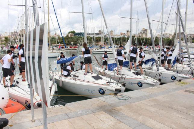 BMW Sail Racing Academy boats