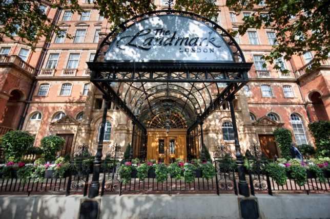 Originally Opened As The Great Central Hotel In 1899 Landmark London Is One Of Last Victorian Railway Hotels