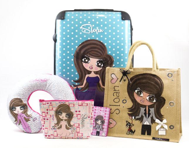 204437ecff1863 LR ClairaBella suitcase, jute bag & travel accessories Sloan Sheridan  Williams