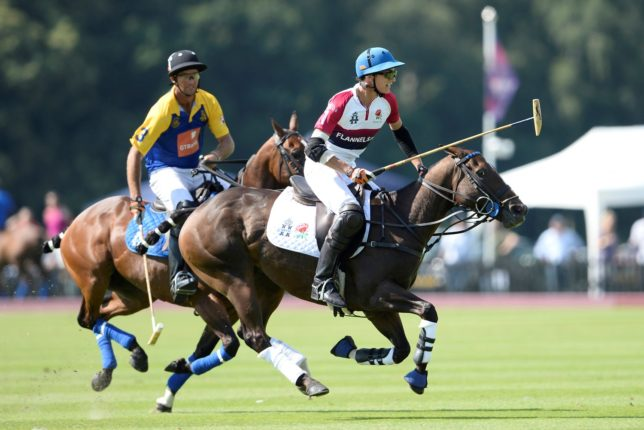 England v Commonwealth at Royal Salute Coronation Cup 2016 © www.imagesofpolo.com