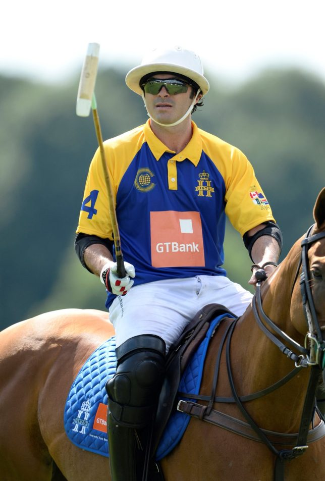 Fred Mannix at Royal Salute Coronation Cup 2016 © www.imagesofpolo.com