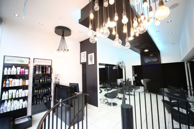 Jamie Stevens Salon in Kensington