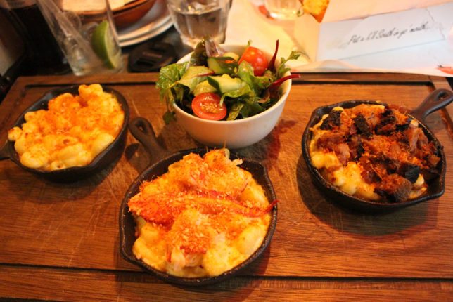 We Took A Closer Look At Our Mac N Cheese Selections The Lobster Tasted As Good As It Looked