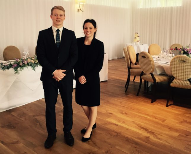 Josh Perry and Aimee White appointed to key roles at The Wood Norton both aged just 19