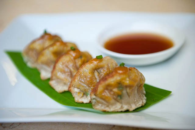 Pork and Ginger Gyoza