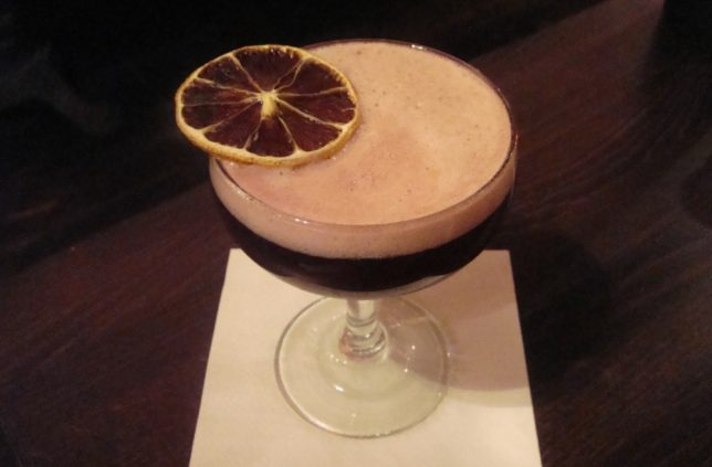 Four Sisters Townhouse cocktail