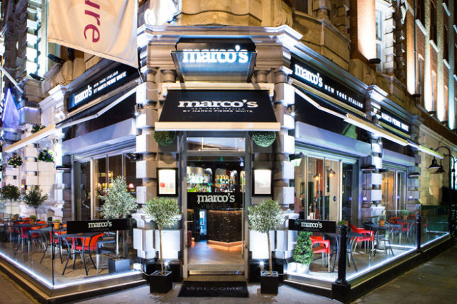 Italian Restaurant Russell Square