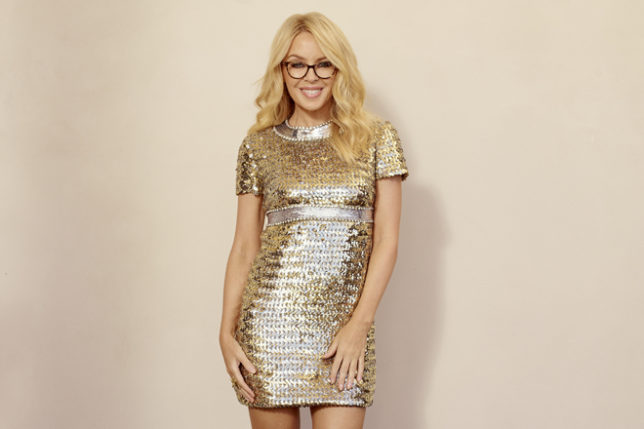 db159ea753 Getting Framed by Kylie Minogue at Specsavers - SLOAN! Magazine