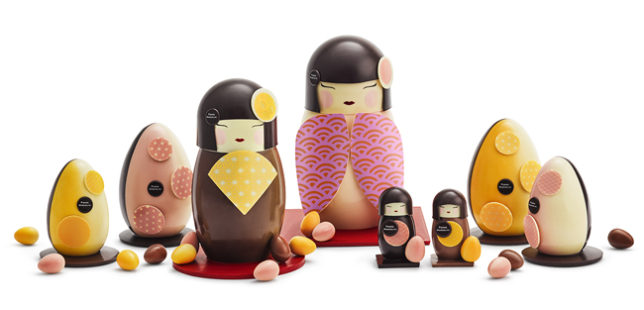 Sloan easter gift guide sloan magazine magazines favourite chocolatiers and his kawai easter collection conjures up a world of mesmerizing tricks where japanese dolls magically morph into easter negle Choice Image