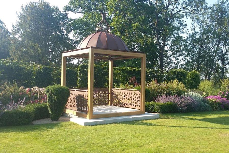 Outdoor Woods Wedding Ceremony: The Wood Norton Launches New Wedding Ceremony Pavilion