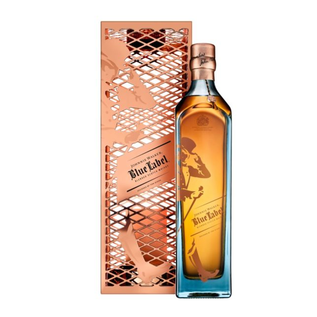 """Speaking about his collaboration with Johnnie Walker and what inspired his design, Tom Dixon said: """"The parallels between Johnnie Walker Master Blender Jim ..."""