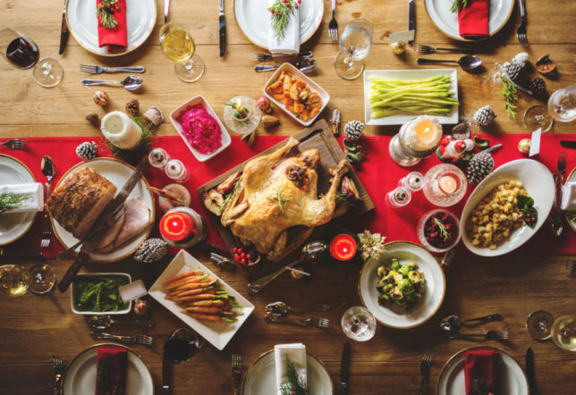Plating up for Christmas: How to make your dinner look as good as it