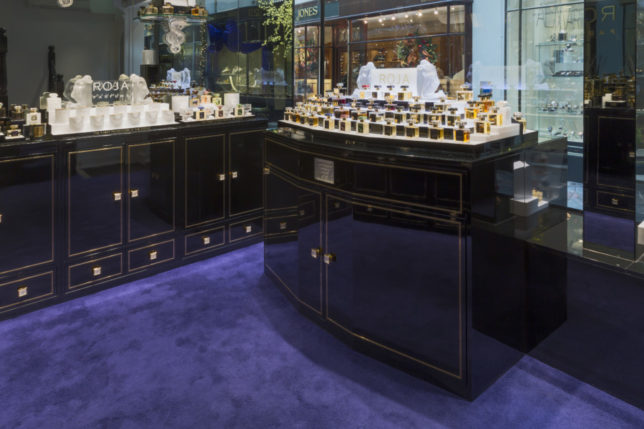 Fragrance Profiling at the Burlington Arcade with Sloan Sheridan-Williams