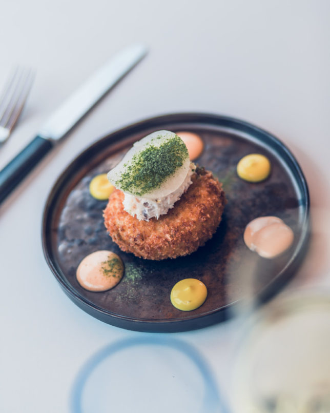 Chef patron mini patel takes blueprint caf to new heights sloan spring dishes appearing on the menu in april when mini took over as chef patron included starters such as carlingford rock oyster with jalapeo malvernweather Image collections