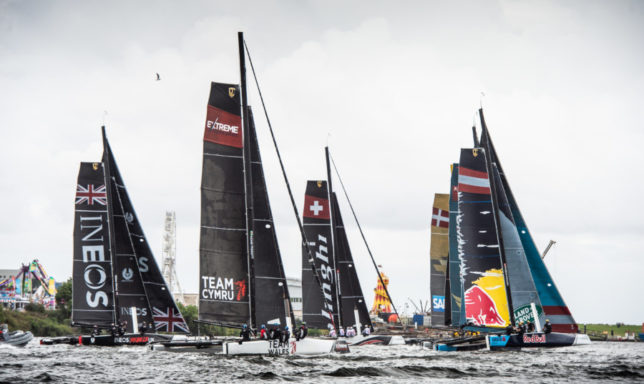 In Conversation With Team Wales' Martin Evans at Extreme Sailing Series™ Cardiff