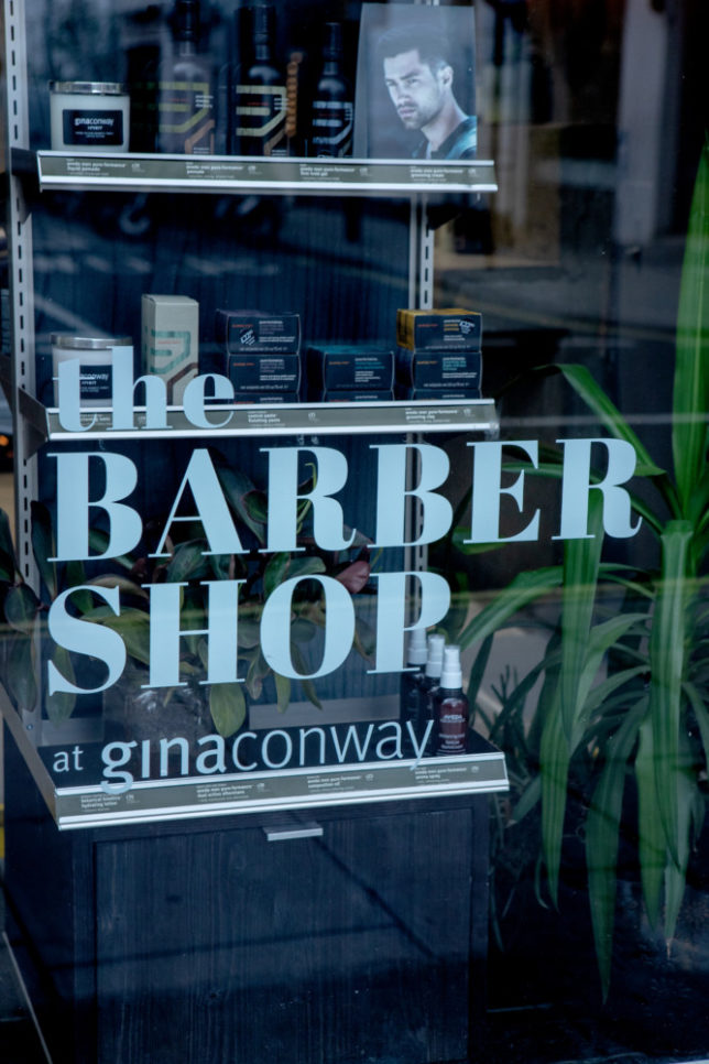 e1e4dfc4b585 The Barber Shop provides the same Aveda rituals and award-winning service  that Gina Conway Salons are renowned for alongside quicker services for  time-poor ...