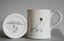 Cluck Cluck pheasant mug HR