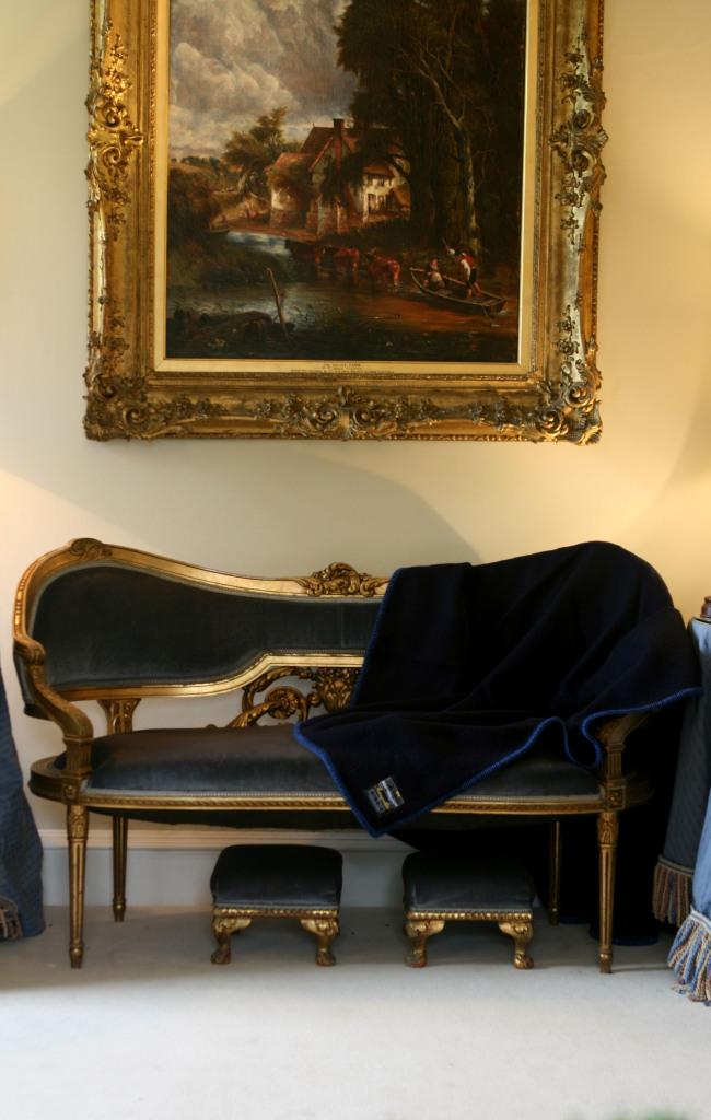 chelsea on sofa portrait