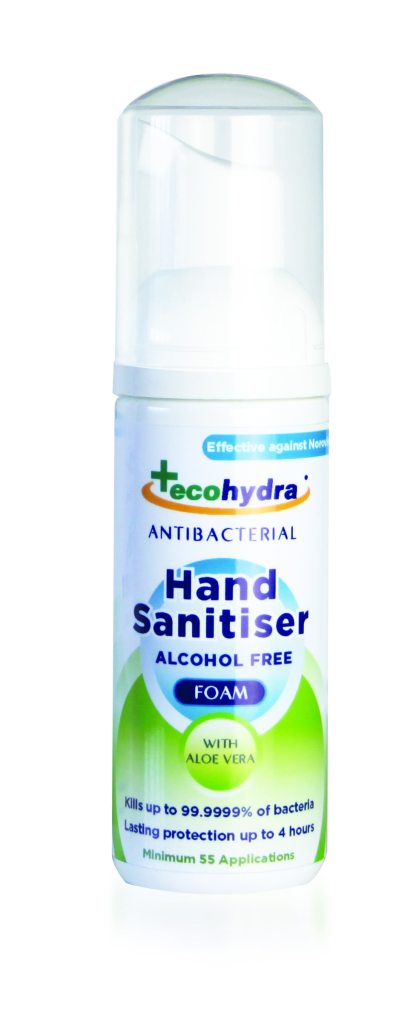 Eco-Hydra hand san packs 50ml