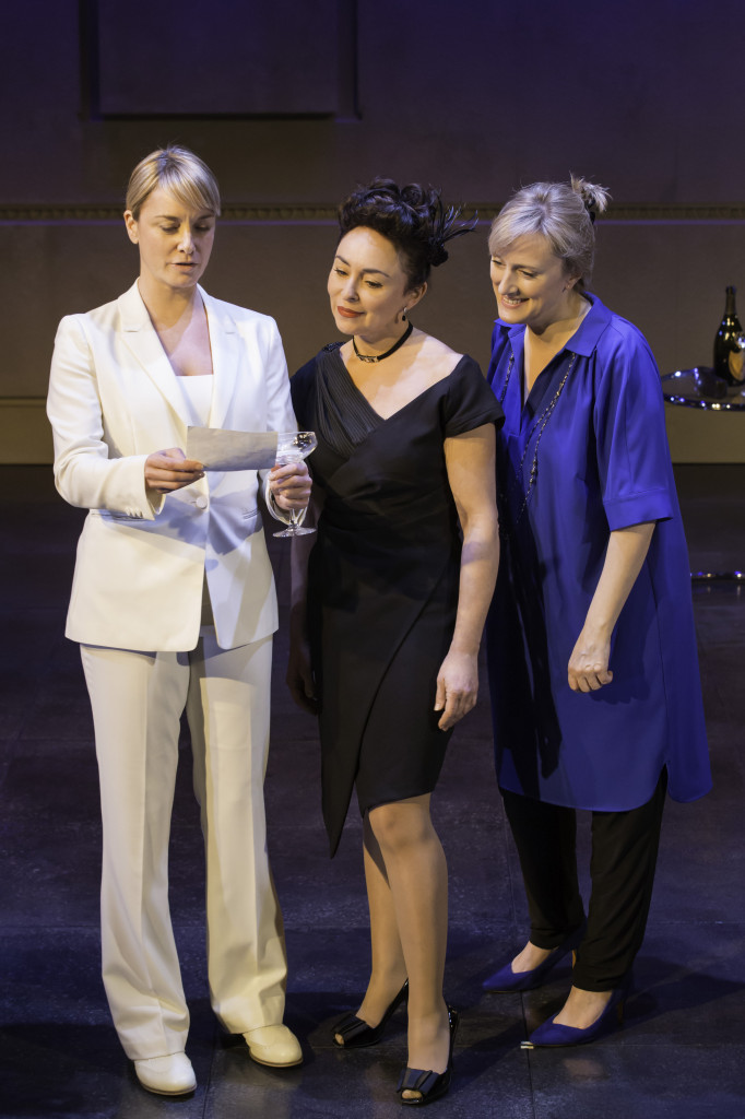 Cast of Di and Viv and Rose (Credit: Johan Persson)