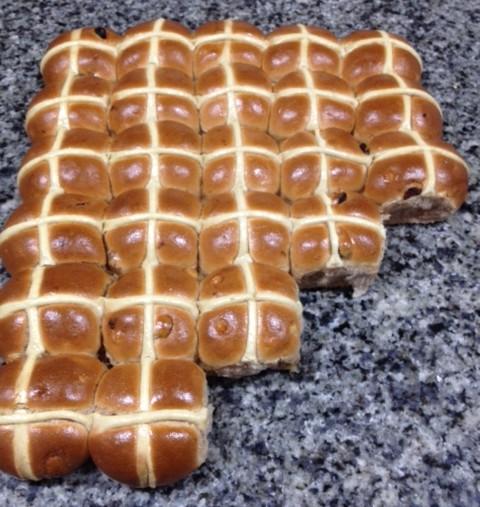 hot crossed buns