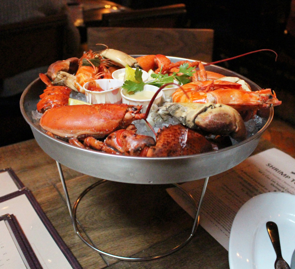 Big Easy Covent Garden - seafood plate