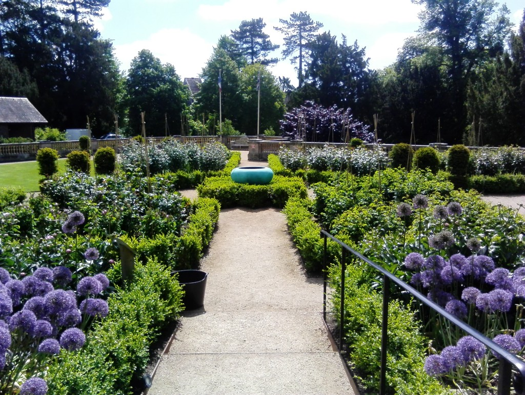 Gardens at The Wood Norton Hotel & Restaurant in the Cotwolds