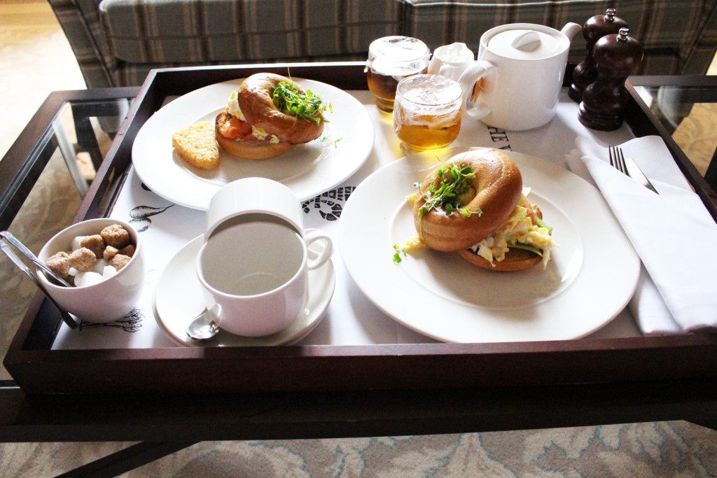 Breakfast at Wood Norton Hotel & Restaurant in the Cotwolds