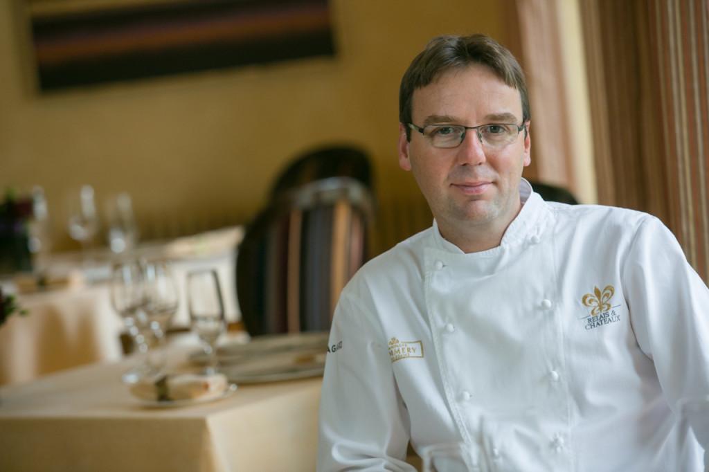 Chef Martin Burge