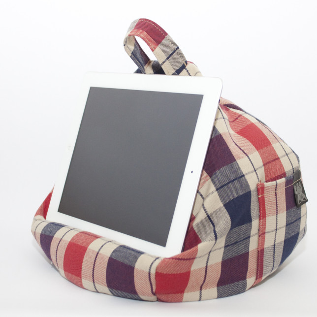 iBeani Tablet Bean Bag Stand in Union Check £24.99