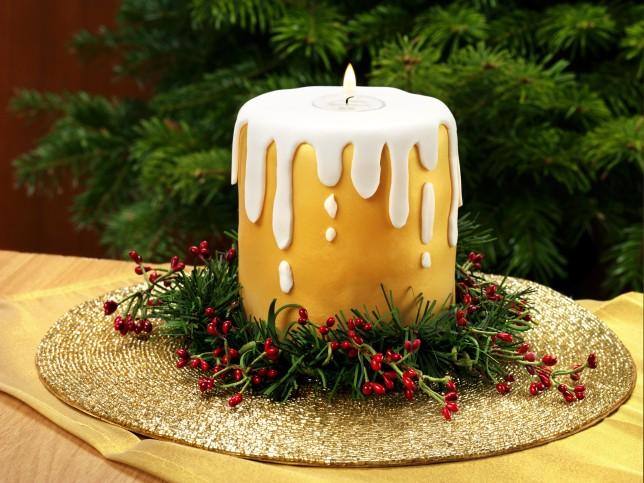 Chocolate Candle Cake