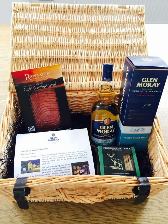 Glen Moray Hamper Smoked Beef