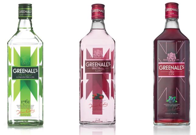 Greenall's Three Gins - Original, Sloe and Wild Berry