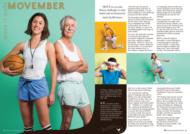 SLOAN Magazine October 2015 Movember