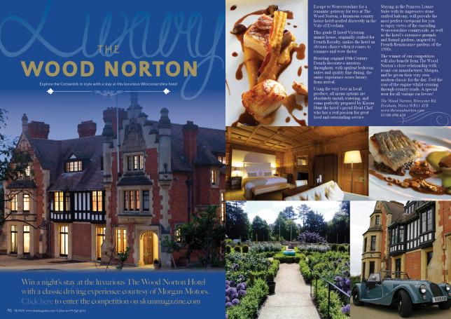 SLOAN Magazine October 2015 Wood Norton