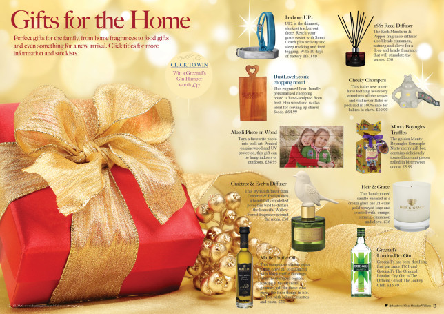 SLOAN Magazine October 2015 Christmas Gift Guide