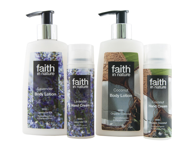 Faith in Nature Lavender Hand Cream & Body Lotion & Coconut Hand Cream & Body Lotion (2)