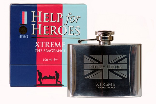 Help for Heroes Xtreme, Box & Flask Shot HIGH RES