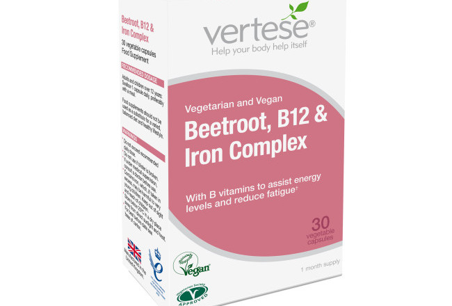 Beetroot, B12 & Iron Complex