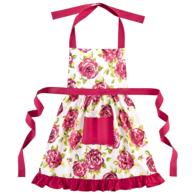 Pink Frilly Apron