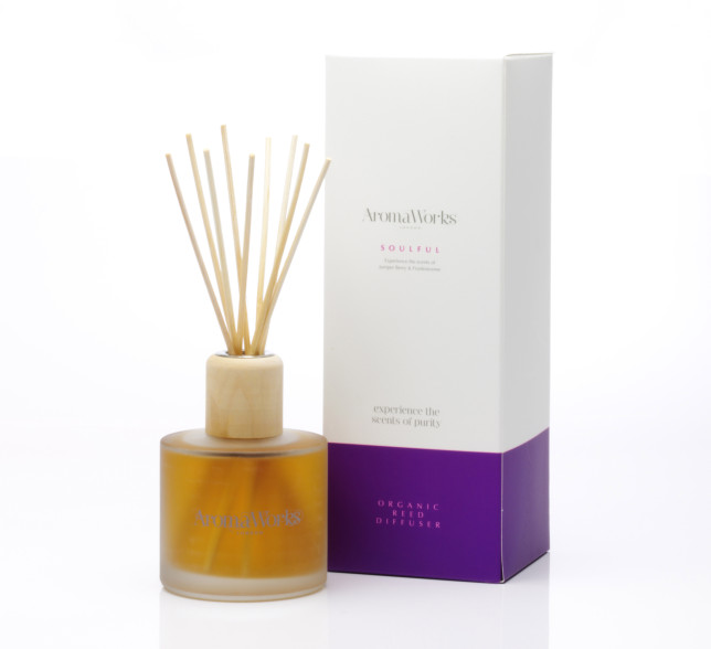 Soulful Reed Diffuser £35 www.aroma-works.com