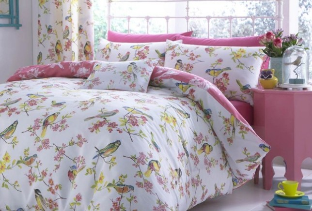 Catherine Lansfield Birds Boutique Bedding Set