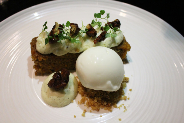 Fenchurch Carrot Cake