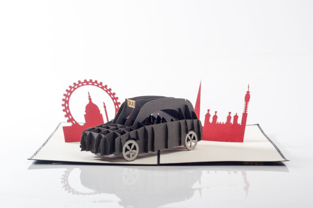 London Taxi_Cut Out